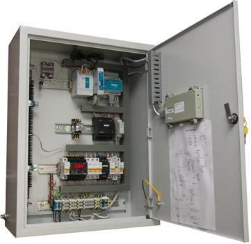 Шкаф телемеханики РЧВ через интрернет (открытый).